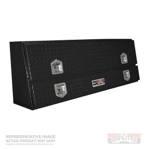 Bed Accessories - Tool Boxes - Westin - Westin Brute Contractor TopSider Tool Box 80-TBS200-96D-B
