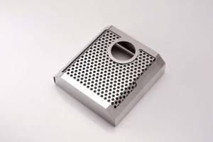 Brakes - Brake Components - American Car Craft - American Car Craft Master Cylinder Cover Perforated/Satin AUTO 053065