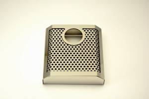 Brakes - Brake Components - American Car Craft - American Car Craft Master Cylinder Cover Perforated/Polished AUTO 053071