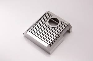 Brakes - Brake Components - American Car Craft - American Car Craft Master Cylinder Cover Perforated/Polished MANUAL 053072