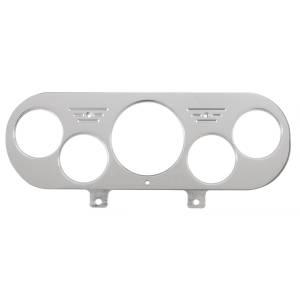 "Electrical - Gauges & Pods - AutoMeter - AutoMeter DASH PANEL, NOVA 62-65, 1 X 3-1/8"" & 4 X 2-1/16"", BILLET 7044"