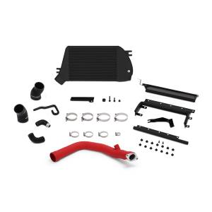 Mishimoto - FLDS Subaru WRX Performance Top Mount Intercooler and Charge-Pipe Kit MMTMIC-WRX-15RBK