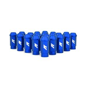 Wheels & Tires - Wheel & Tire Accessories - Mishimoto - FLDS Mishimoto Aluminum Competition Lug Nuts, M12 X 1.25 MMLG-125-BL