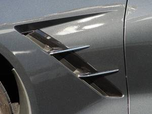Exterior - Fenders & Flares - American Car Craft - American Car Craft Spears Chrome Retro Side 4pc 052010