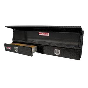 Bed Accessories - Tool Boxes - Westin - Westin Brute Contractor TopSider Tool Box 80-TBS200-72-BD-B