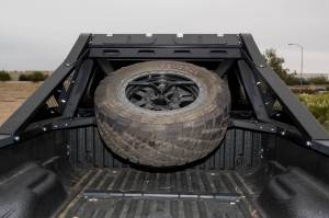 Wheels & Tires - Wheel & Tire Accessories - Addictive Desert Designs - GGVF HoneyBadger Chase Rack Tire Carrier C09552NA01NA