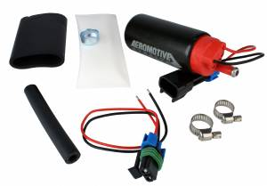 Fuel System - Fuel System Parts - Aeromotive Fuel System - Aeromotive Fuel System 340 Series Stealth In-Tank Fuel Pump, center Inlet - offset (GM applications) 11569