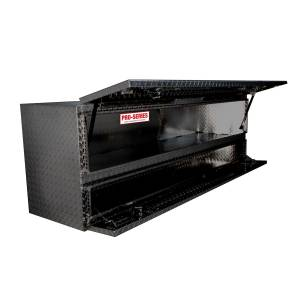 Bed Accessories - Tool Boxes - Westin - Westin Brute High Cap Stake Bed Contractor Box 80-TB400-72-B
