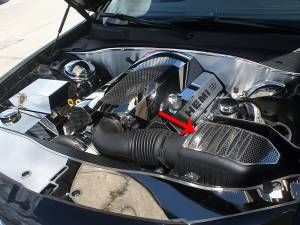 Performance - Air Intakes - American Car Craft - American Car Craft Air Box Cover Perforated Factory Air Box 333010