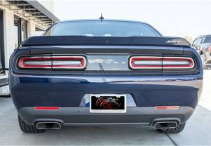 Lighting - Lighting Accessories - American Car Craft - American Car Craft Satin Tail Light Trim 4pc 152027