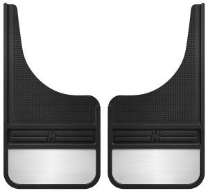 Husky Liners - Husky Liners Rubber Front Mud Flaps - 12IN w/ Weight 55001