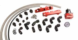 Aeromotive Fuel System - Aeromotive Fuel System 04-06 2.5L Side Feed Injector Subaru STI Rail Kit 14137