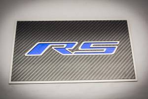 Electrical - Misc. Electircal - American Car Craft - American Car Craft Fuse Box Cover Carbon Fiber Top Plate w/ Polished RS 103095-BLU