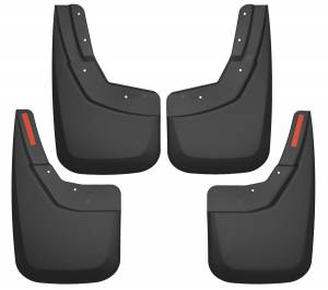 Exterior - Mud Flaps - Husky Liners - Husky Liners Front and Rear Mud Guard Set 56886