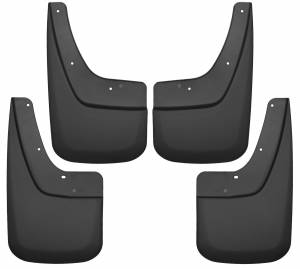 Exterior - Mud Flaps - Husky Liners - Husky Liners Front and Rear Mud Guard Set 56896