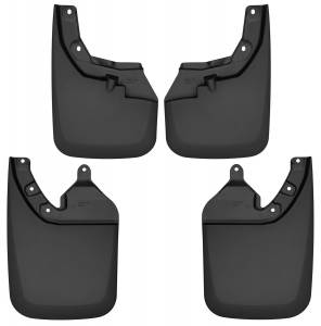 Exterior - Mud Flaps - Husky Liners - Husky Liners Front and Rear Mud Guard Set 56946