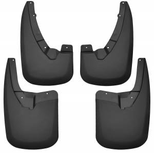 Exterior - Mud Flaps - Husky Liners - Husky Liners Front and Rear Mud Guard Set 58176