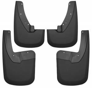 Exterior - Mud Flaps - Husky Liners - Husky Liners Front and Rear Mud Guard Set 58186