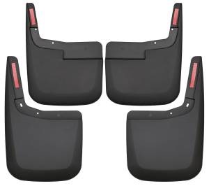 Exterior - Mud Flaps - Husky Liners - Husky Liners Front and Rear Mud Guard Set 58446