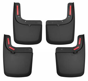 Exterior - Mud Flaps - Husky Liners - Husky Liners Front and Rear Mud Guard Set 58476