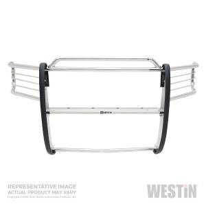 Exterior - Grille Guards and Bull Bars - Westin - Westin F-150/250LD 4WD 1997-2004 (Heritage Edition)/F-150 Super Crew 4WD 2001-2003; Exp 45-0240
