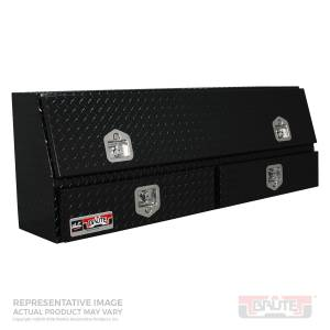 Bed Accessories - Tool Boxes - Westin - Westin Brute Contractor TopSider Tool Box 80-TBS200-48-BD-B
