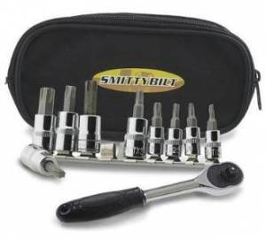 Smittybilt - Smittybilt 9 Peace Torx Set T15-T50 Smittybilt 2830