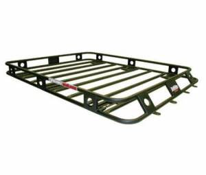 Exterior - Roof/Luggage Racks - Smittybilt - Smittybilt Defender Roof Rack Steel 3.5 X 5 X 4In Sides One Piece Welded Smittybilt 35504