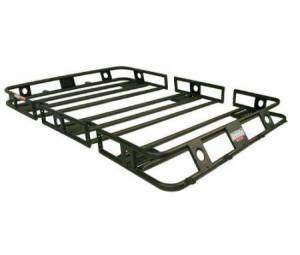 Exterior - Roof/Luggage Racks - Smittybilt - Smittybilt Defender Roof Rack Steel 3.5 X 6 X 4In Sides One Piece Welded Rack Smittybilt 35604