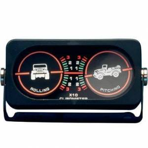 Smittybilt - Smittybilt Clinometer I Jeep Graphic Illuminated Smittybilt 791005