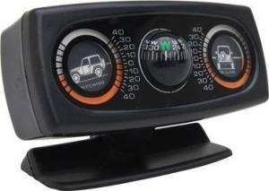 Smittybilt - Smittybilt Clinometer Ii Jeep Graphic W/ Compass Illuminated Smittybilt 791006