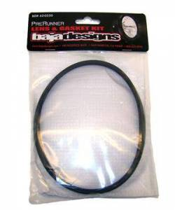 Lighting - Fog Lights - Baja Designs - Baja Designs Lens and Gasket Kit For 6 Inch PreRunner Rock Guard Black Baja Designs 620250