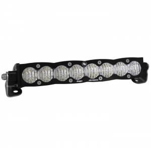 Products - Jeep - Baja Designs - Baja Designs 10 Inch LED Light Bar Spot Pattern Amber Lens S8 Series Baja Designs 701014