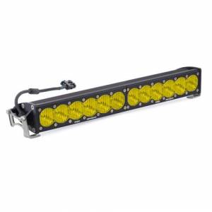 Baja Designs - Baja Designs 20 Inch LED Light Bar Single Amber Straight Wide Driving Combo Pattern OnX6 Baja Designs 452014