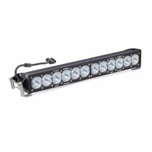 Products - Jeep - Baja Designs - Baja Designs 20 Inch LED Light Bar Single Straight High Speed Spot Pattern Racer Edition OnX6 Baja Designs 412002