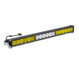 Products - Jeep - Baja Designs - Baja Designs 30 Inch LED Light Bar Amber/White Dual Control OnX6 Series Baja Designs 463014