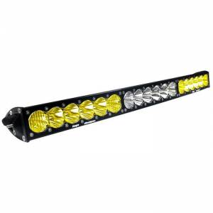 Products - Jeep - Baja Designs - Baja Designs 30 Inch LED Light Bar Amber/WhiteDual Control Pattern OnX6 Arc Series Baja Designs 523003DC