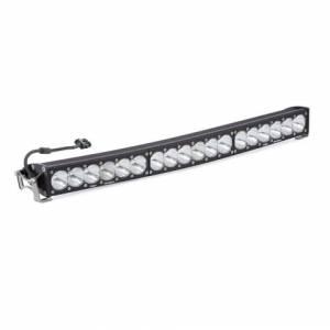 Products - Jeep - Baja Designs - Baja Designs 30 Inch LED Light Bar High Speed Spot Pattern OnX6 Arc Series Baja Designs 523001
