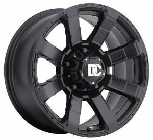 Dick Cepek - Dick Cepek DC Matrix Light Truck Wheel 17X9 8X6.50 4.500 Back Space Matte Black W/Lazer Logo Dick Cepek 90000024839