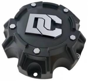 Dick Cepek - Dick Cepek DC Blackout/DC Matrix Center Caps 8X180 Bolt On Open Flat Black Dick Cepek 90000025001