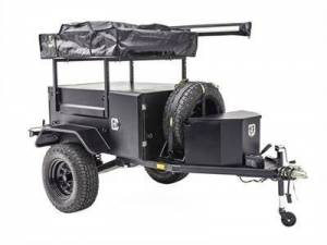 Towing - Accessories - Smittybilt - Smittybilt Scout Trailer Kit for Off Grid Overlanding w/ Wheels and Tires Black Smittybilt 87400