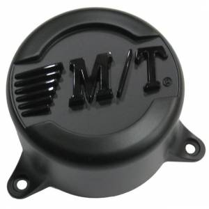 Mickey Thompson - Mickey Thompson Classic Baja Lock Center Caps 6 X 135 Bolt On Closed 2.835 Inch Flat Black Mickey Thompson 90000020020