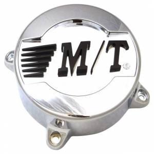 Mickey Thompson - Mickey Thompson Classic III Center Caps 5 X 4.5/5.0 Bolt On Closed 3.110 Inch Chrome Mickey Thompson 90000001635