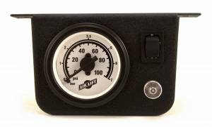 Electrical - Switches & Panels - Air Lift - Air Lift SINGLE NEEDLE AIR GAUGE 26156