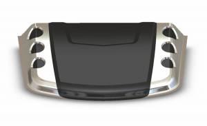Auto Ventshade (AVS) HOOD SCOOPS 80012