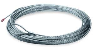 Winch & Recovery - Winch Accessories - Warn - Warn 9000 LB Cap 5/16 Inch Dia x 125 Ft Galvanized Wire Rope 25987