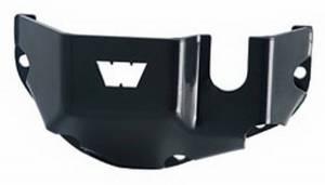 Exterior - Body Armor & Sliders - Warn - Warn Differential; Dana 44; Powder Coated; Black; Steel 65447