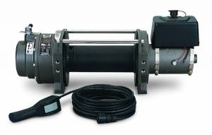 Winch & Recovery - Winches - Warn - Warn Winch 12 Volt 15000 LB Cap Wire Fairlead Wired Remote Planetary Gear Drive 66032
