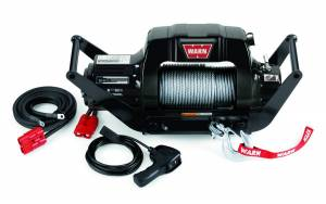 Winch & Recovery - Winches - Warn - Warn 12 Volt 9500 LB Cap 125 Ft Wire Rope Hawse Fairlead 85760