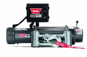Winch & Recovery - Winches - Warn - Warn 12 Volt 9500 LB Cap 100 Ft Synthetic Rope Hawse Fairlead 87310
